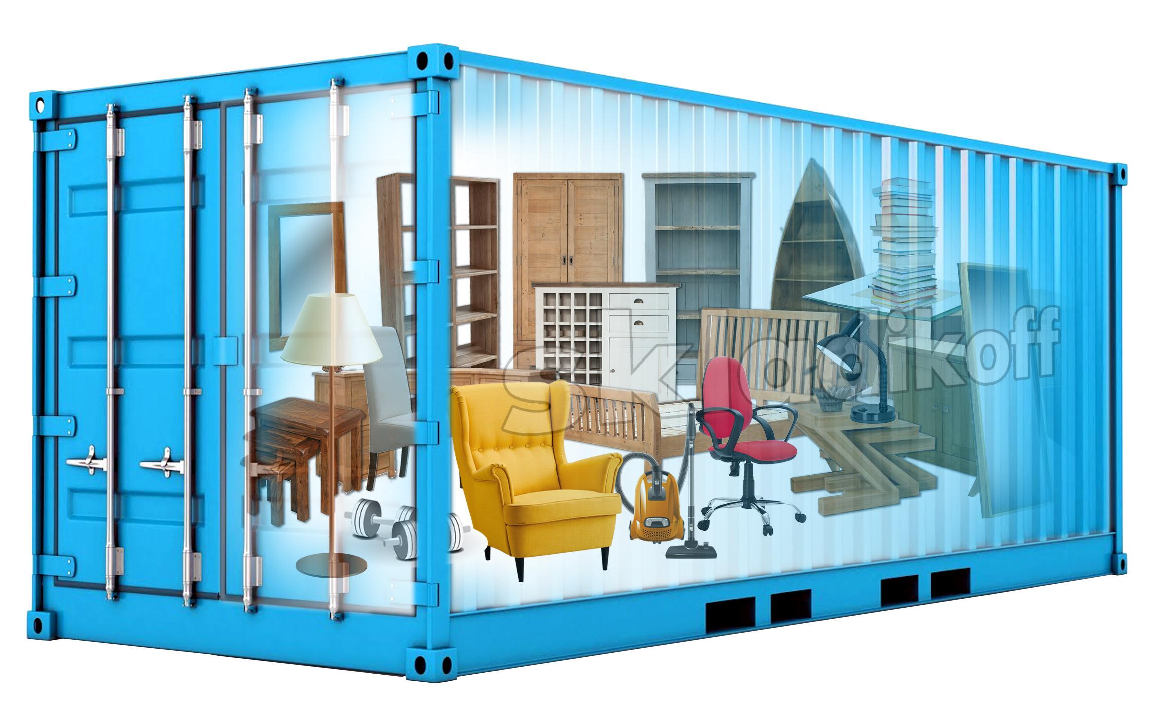 склад для хранения мебели на время ремонта