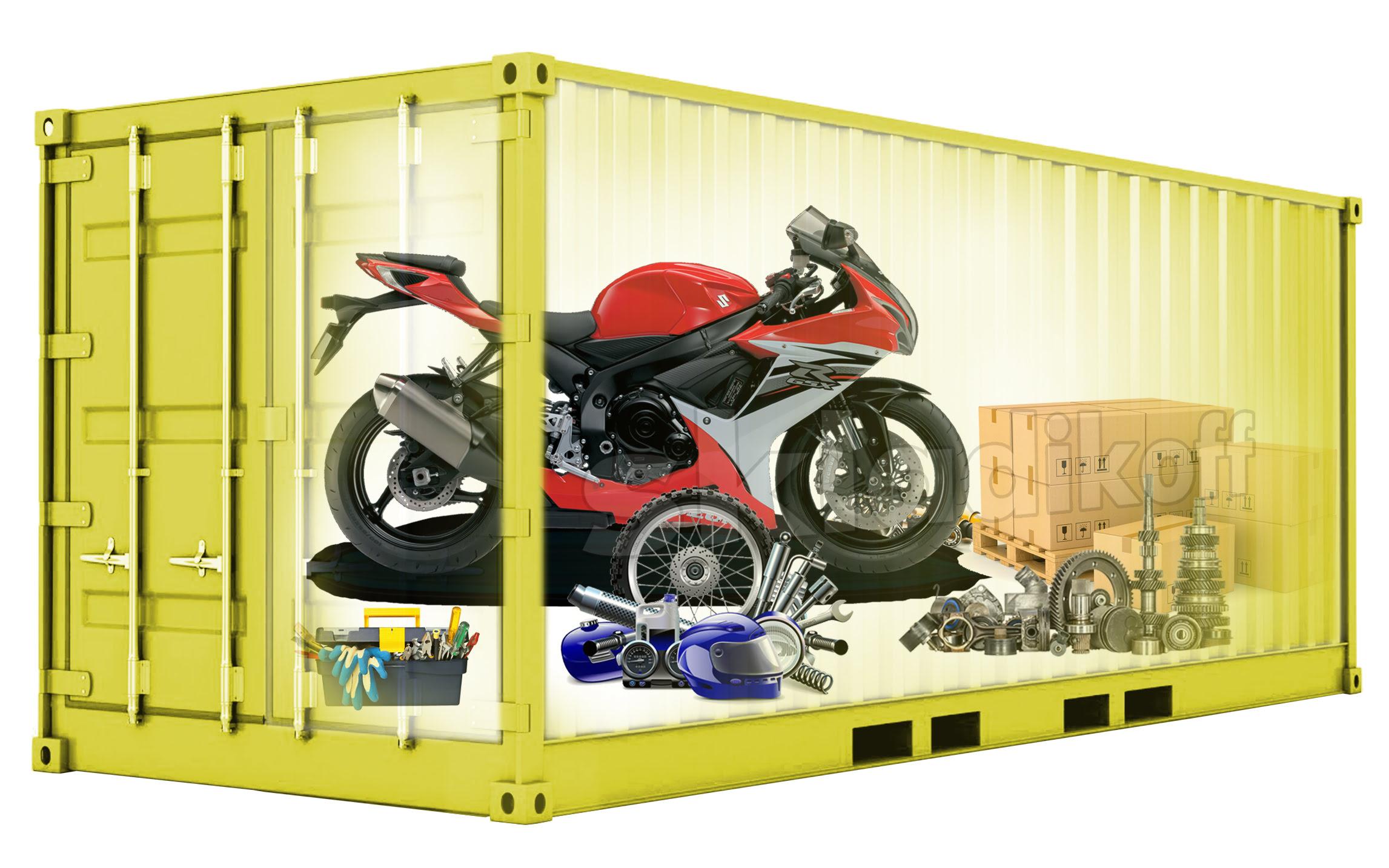 Сезонное хранение мотоцикла