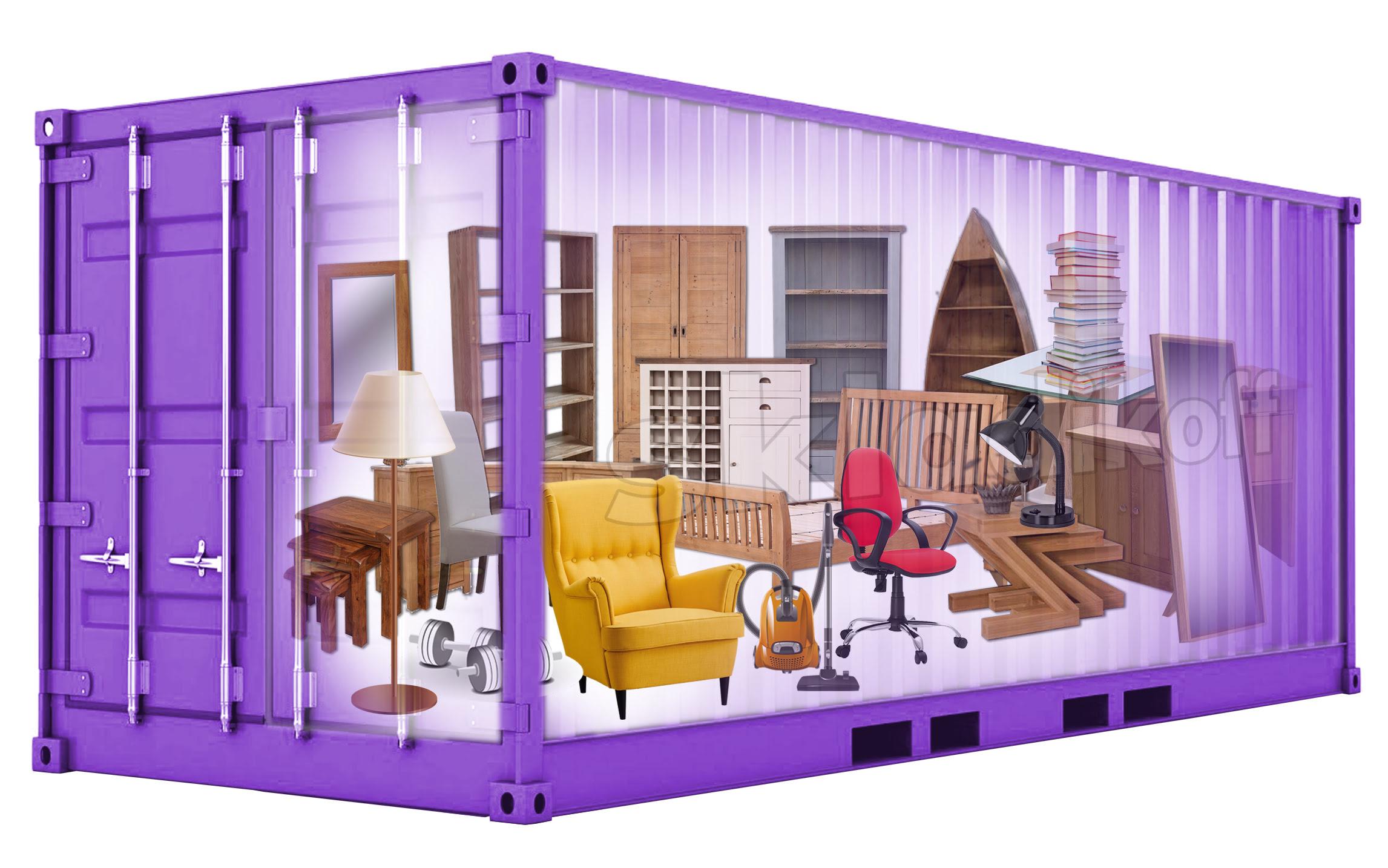 Склад для хранения мебели