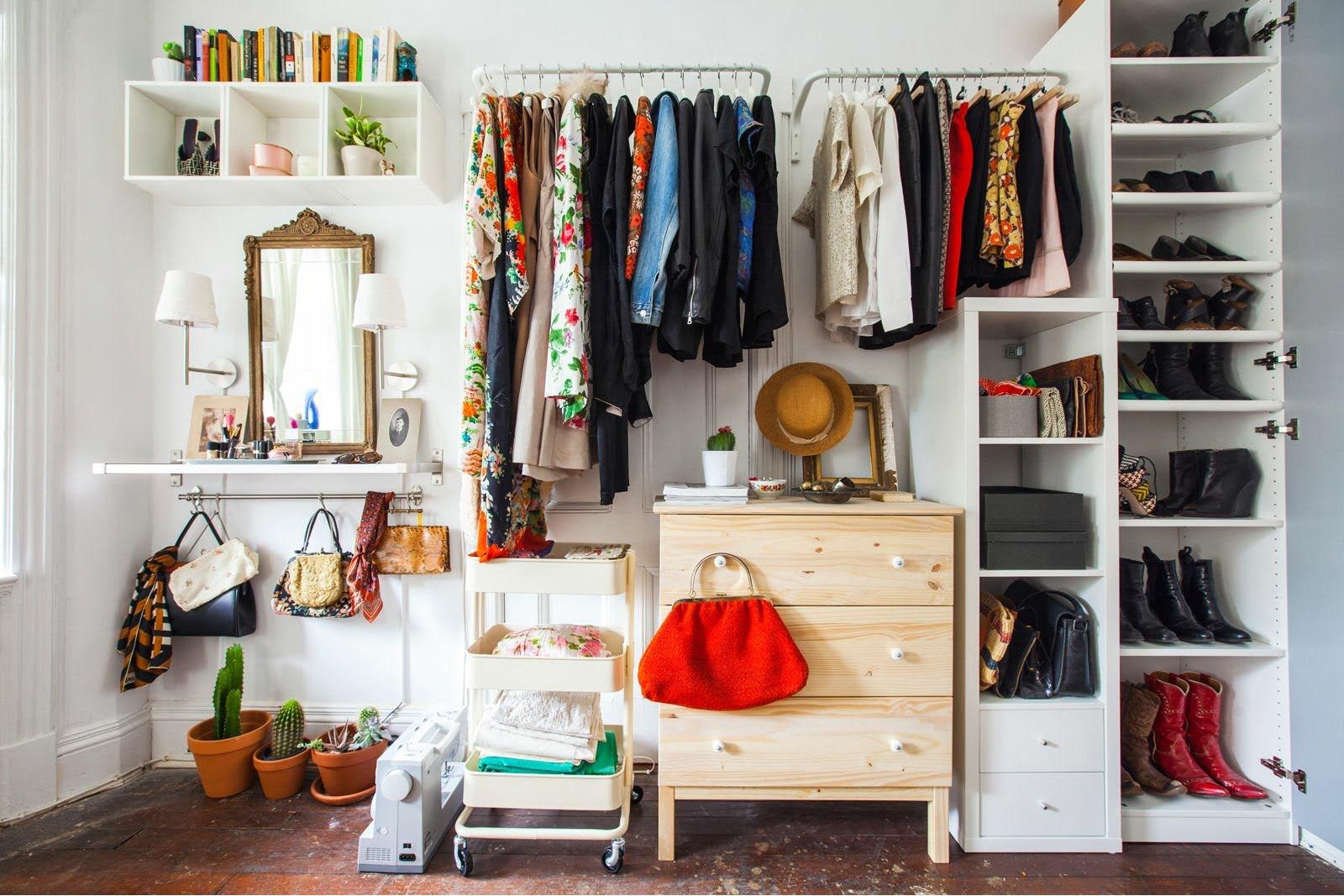 Как освободить место в маленькой квартире