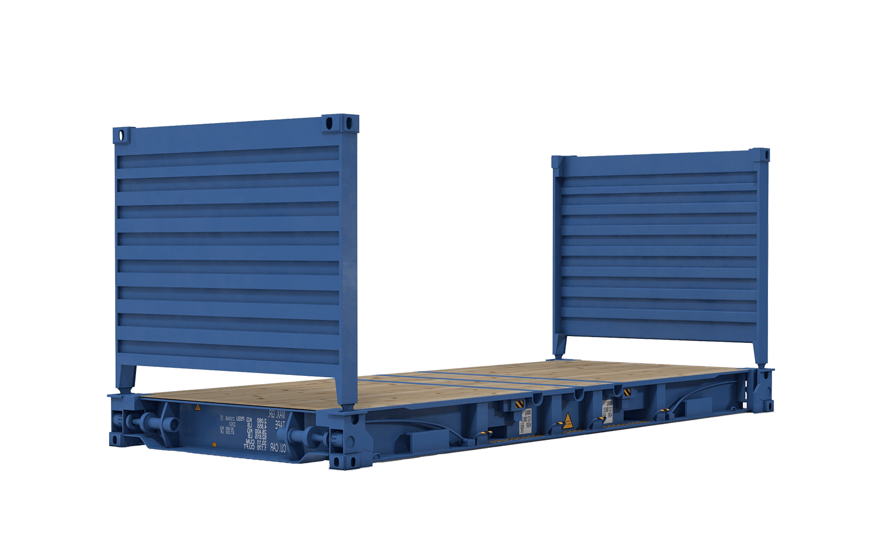 Платформа со стенками - Flat Rack