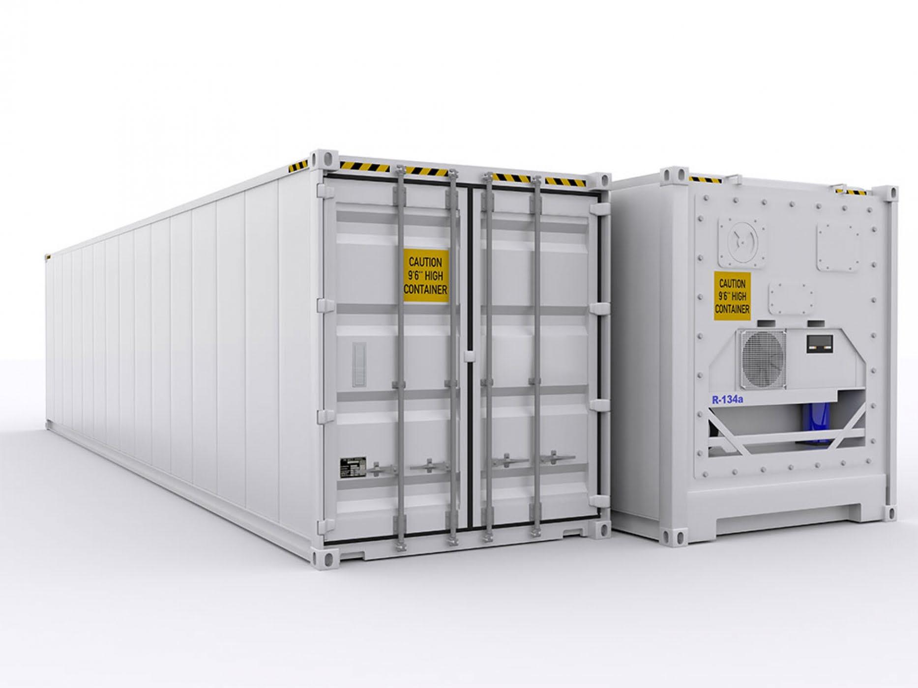 Рефрижераторный морской контейнер