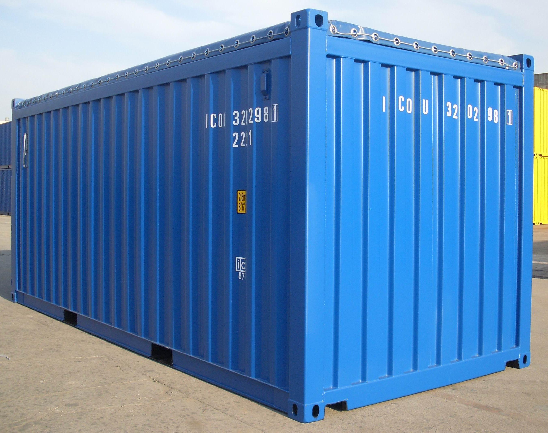 Стандартный морской контейнер