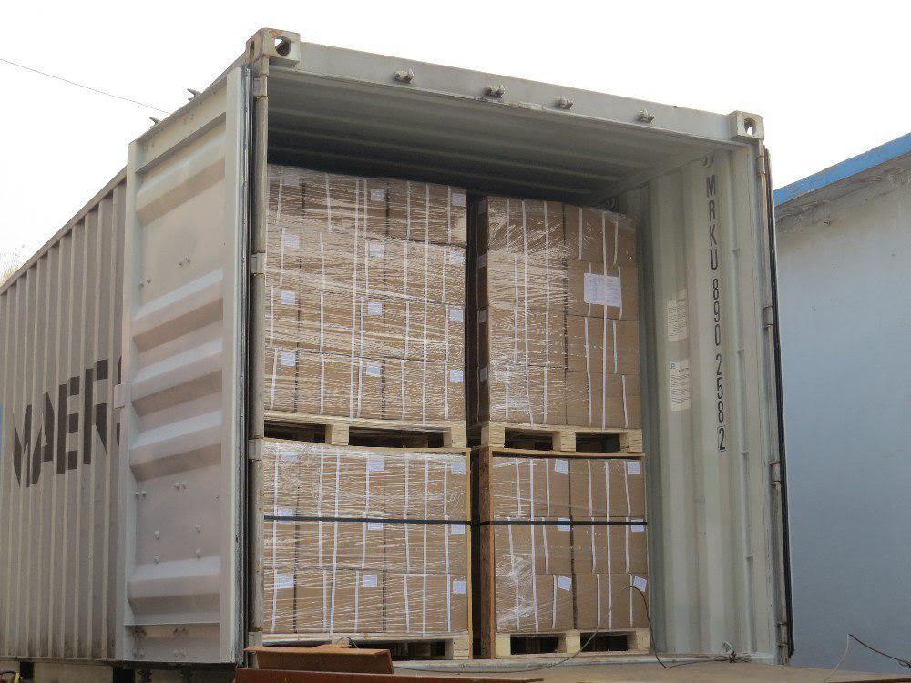 Сколько паллет в контейнерах 20, 40 и 45 футов